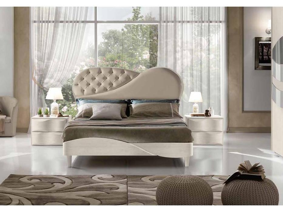 MobilPiu: Primarosa Diamond: кровать 180х200 (бежевый)