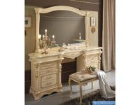 MobilPiu: Регина: стол туалетный (слоновая кость, золото)