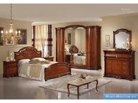 MobilPiu: Регина: спальная комната с 6 дв.шкафом (орех)