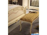 MobilPiu: Регина: банкетка ткань  (слоновая кость, золото)