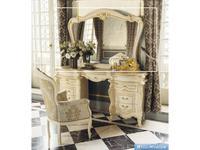 MobilPiu: Опера: зеркало настенное (слоновая кость, золото)