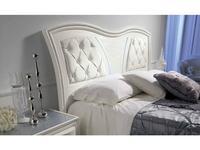 MobilPiu: Gioia: кровать двуспальная 180х200 капитоне (белый)