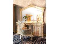MobilPiu: Madame Royale: стол туалетный (слоновая кость, золото)