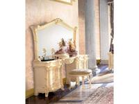 MobilPiu: Madame Royale: зеркало для стола туалетного (слоновая кость, золото)