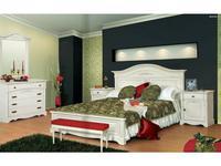 Mobex Мобекс: Анна: кровать 180х200 (crema)
