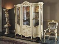MobilPiu: Опера: витрина 3-х дверная (слоновая кость)