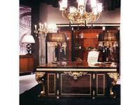 Mariner Маринер: Volga: стол письменный Волга  (орех, золото)