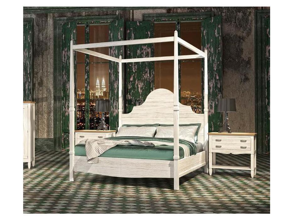 Grupo Seys: Volga: кровать 180х200  с балдахином