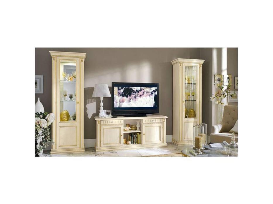 M. Villanova: Анжелика: витрина 1 дверная правая  (беж, золото)
