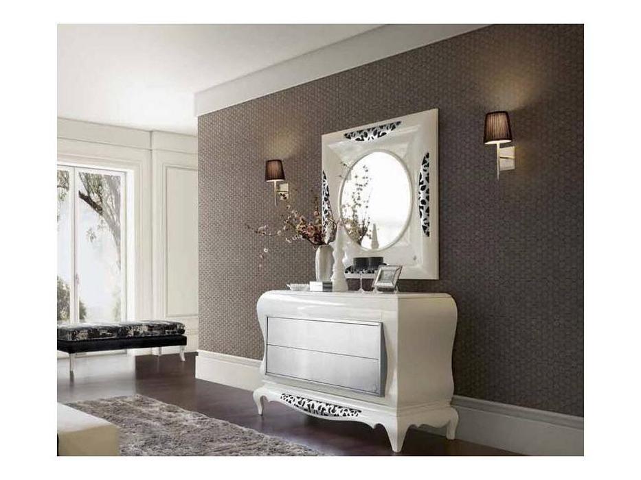 Jetclass: New York: зеркало  (белый, серебро)