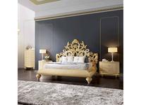 Jetclass: Crown: кровать двуспальная  180х200 (крем)