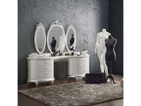 Jetclass: Venezia: стол туалетный  (белый, серебро)