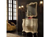 Artecesar: комод 3 ящика Dana  (шампань золото)