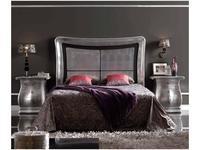 Artecesar: изголовье кровати 160 Duna  (состаренное серебро)