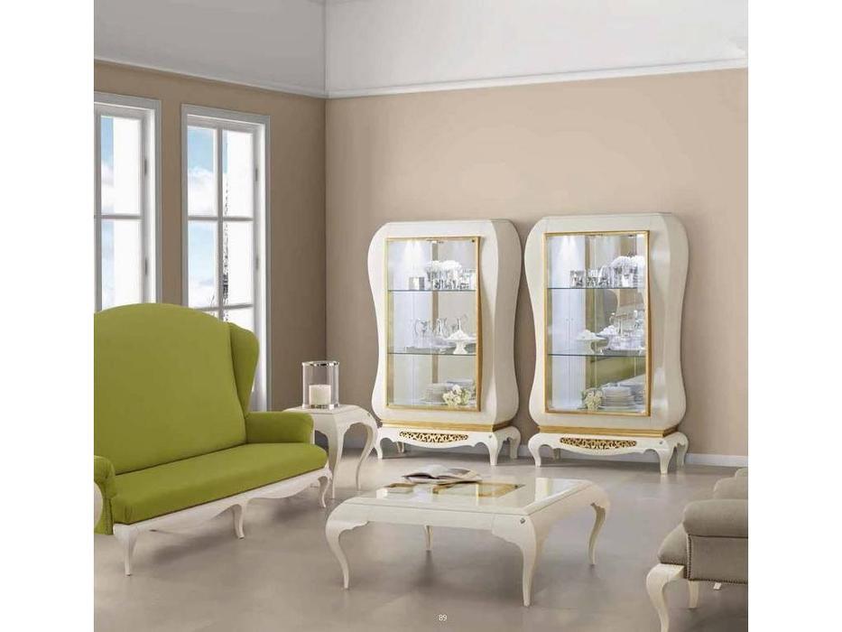Jetclass: New York: витрина 2-х дверная  (крем)
