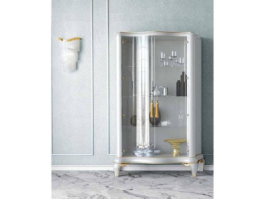 Jetclass: Capri II: витрина 2-х дверная  (белый)