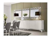 Jetclass: Capri: зеркало настенное  (серебро)