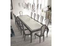 La Ebanisteria: Quantum: стол обеденный 240х120  (grafito)