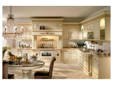 Классическая кухня Angela фабрики Moletta&Co на заказ