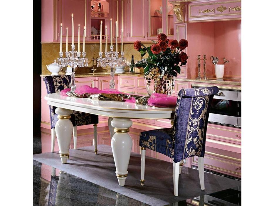 Moletta&Co: Angela: кухня Анжела (розовый, золото)