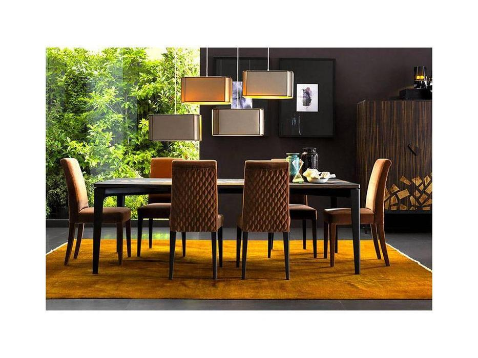 Grilli: Zarafa: стол обеденный  (черное дерево)