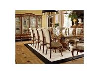 Grilli Грилли: Версаллес: стул  ткань (орех, жемчужный,позолота)
