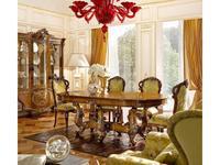 Grilli: Ле Розе: стол  (орех, инкрустация)