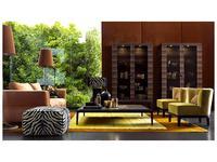 Grilli: Zarafa: витрина 2-х дверная  (черное дерево)