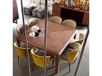 Grilli: York: стол обеденный  (орех)
