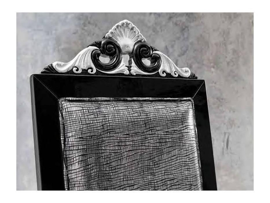 Modenese Gastone: Minimal Baroque: стул  кат. C, ткань (черный)