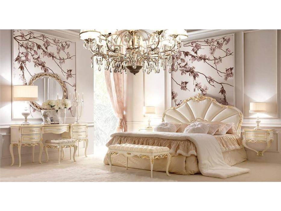 Signorini Coco: Forever: кровать двуспальная  180х190 (слоновая кость)