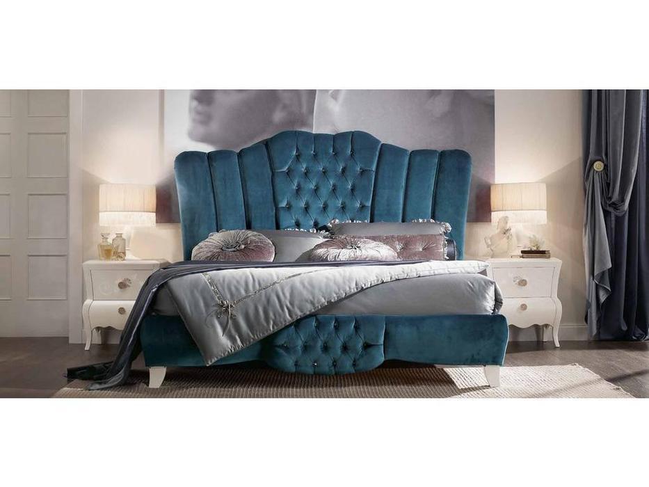 Modenese Gastone: Contemporari: кровать 180х200  (ткань)