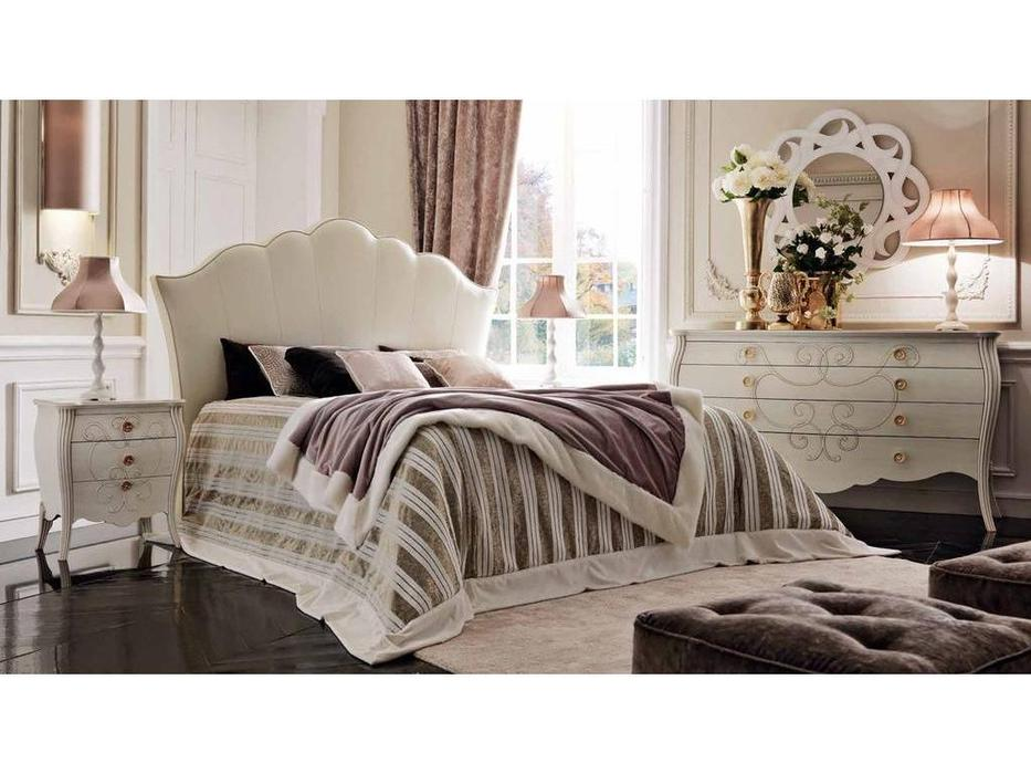 Modenese Gastone: Contemporari: кровать 160х195  (ткань)
