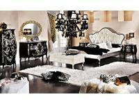 Modenese Gastone: Ducale: спальная комната Дукале (черная с золотом)