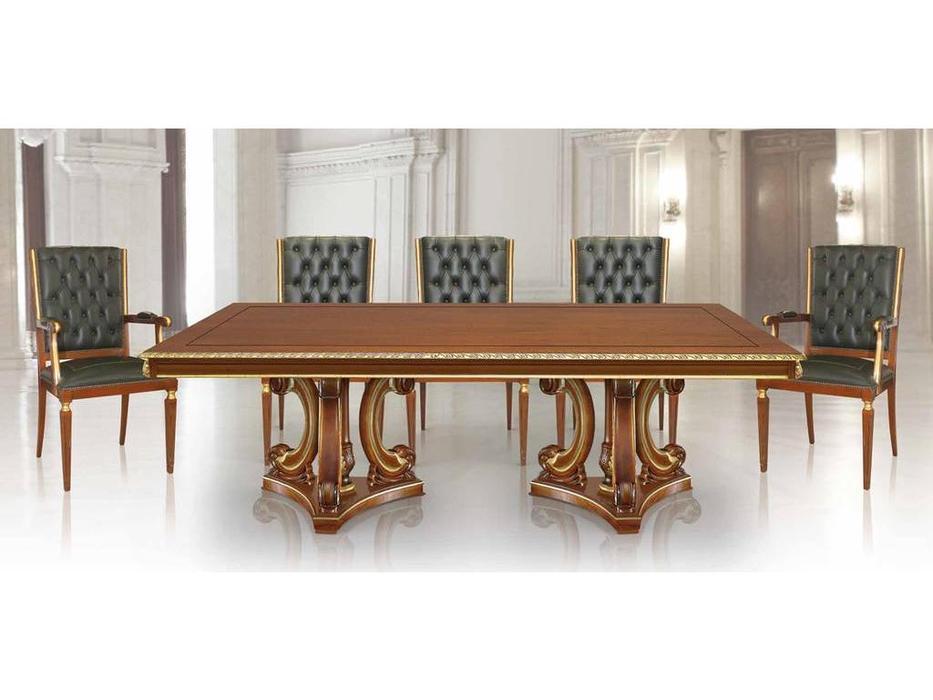 Ricaipons: Geo: стол переговорный  (nogal)