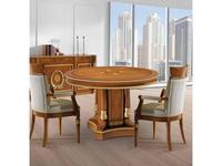 Ricaipons: President: стол переговорный  круглый (olivato)