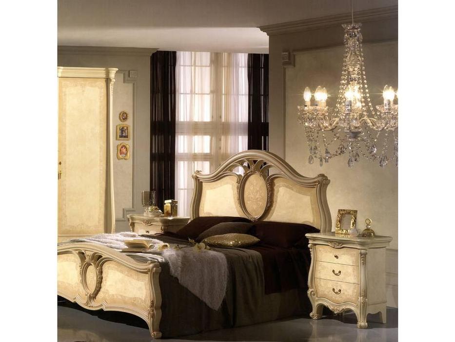 Saltarelli: Sovrana: кровать 160х200  (слоновая кость)