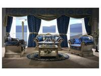 Moblesa: Magna: диван 2-х местный (stuco gold)