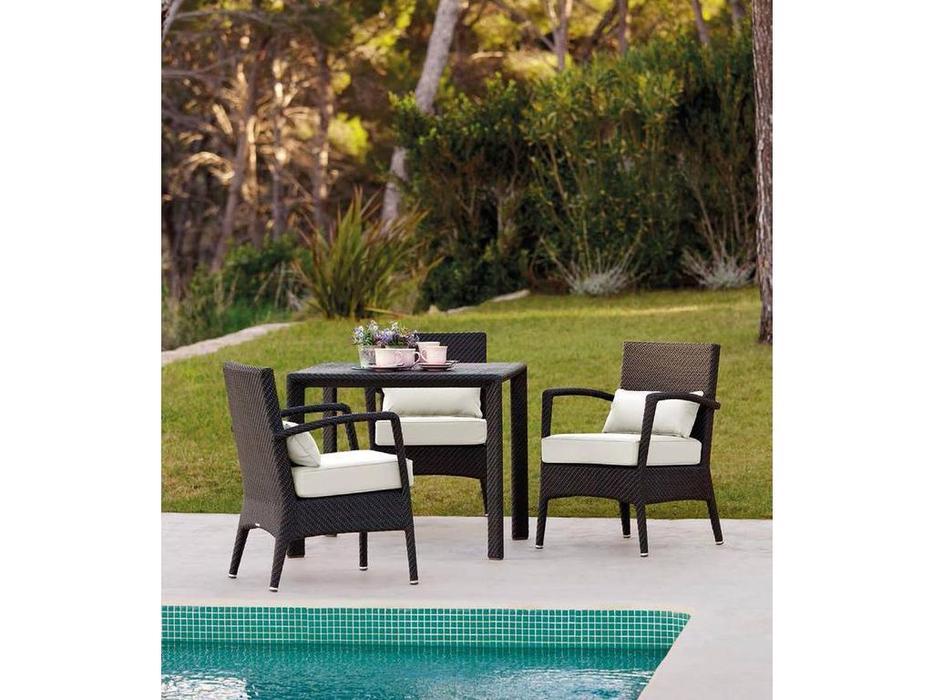 Point Поинт: Amberes: кресло садовое  (dark 59/ткань G2)