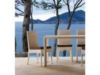 Point Поинт: Amberes: стул садовый  (marfil 36/ткань G1)