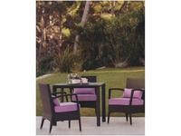 Point Поинт: Angul: стол садовый обеденный  (dark 59)