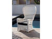 Point Поинт: Emmanuel: кресло садовое  (dark 59/ткань G1)