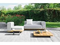 Point: Pal: диван  садовый со столиком (ткань, натуральное дерево)