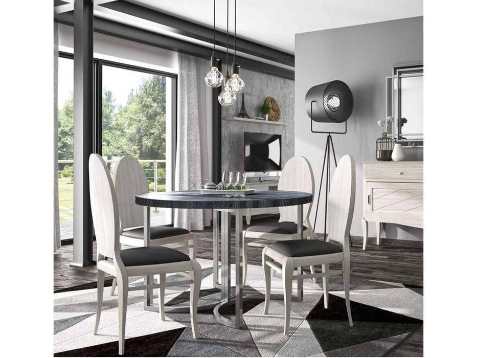 Grupo Seys: Basilea: стол обеденный  Santa Clara (gris ceniza)