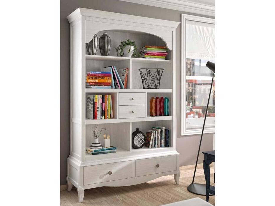 Grupo Seys: Basilea: шкаф книжный  открытый (blanco lienzo)