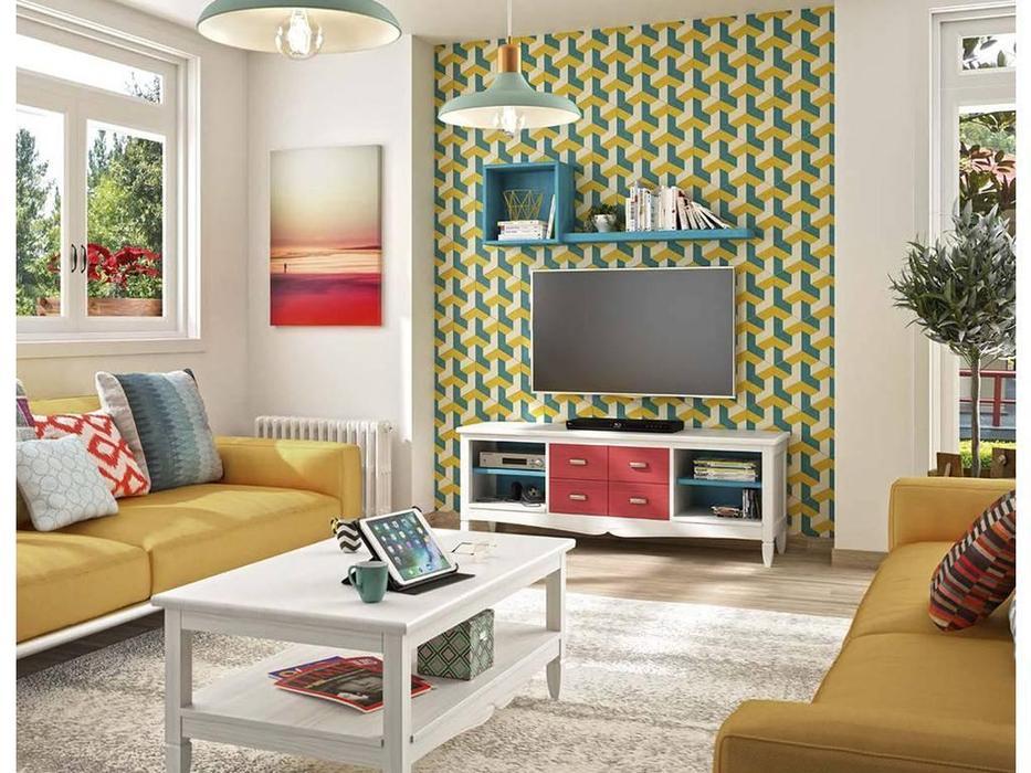 Grupo Seys: Amberes: тумба под телевизор  (blanco decape)