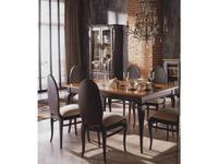 Grupo Seys: Mediterraneo: стол обеденный раскладной  (grafito, caramelo)
