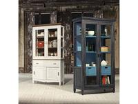 Grupo Seys: Amberes: витрина 2 дверная  (turquesa, gris ceniza)