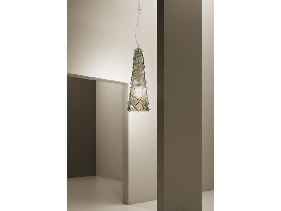 Sylcom: Chaotic: подвесной светильник  (хром, дым)