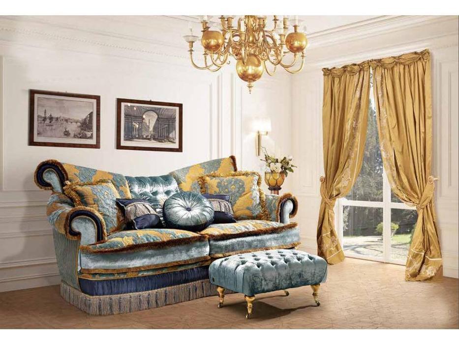 BM Style БМ Стиль: Квин-6: диван 3-х местный (ткань)